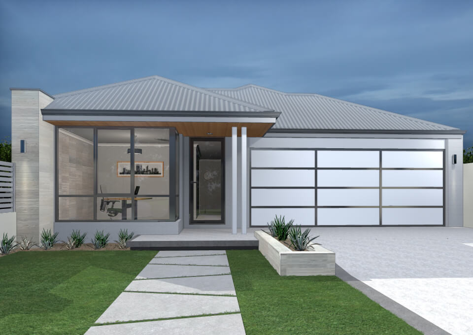 The Myra single storey home by mygen homes - home elevation