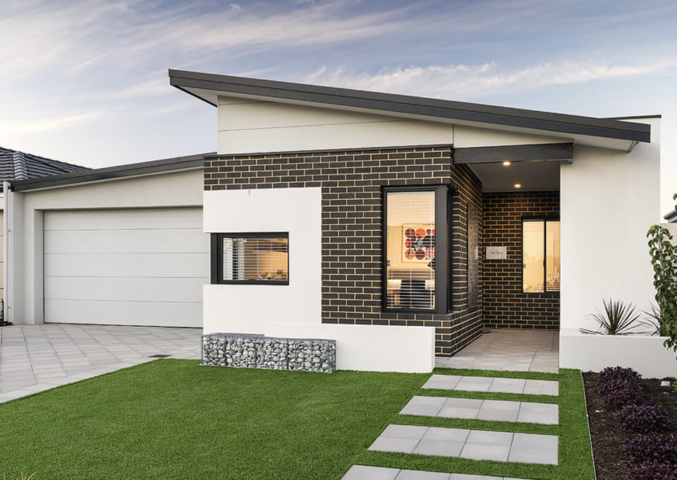 The Petra single storey display home by mygen homes - home elevation