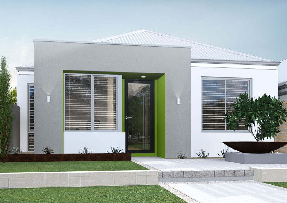 The Sintra single storey home by mygen homes - home elevation