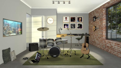 The Perfect Muti Gen room: Music Room