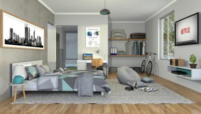 The Perfect Muti Gen room: Uni Student