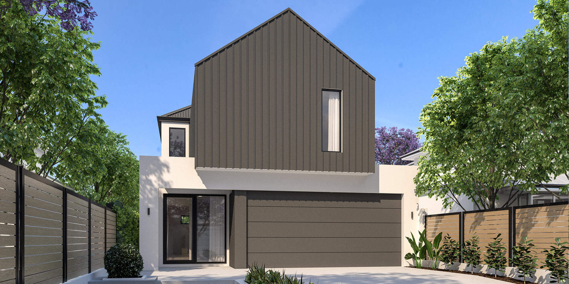 The Mondrian hybrid home by mygen homes