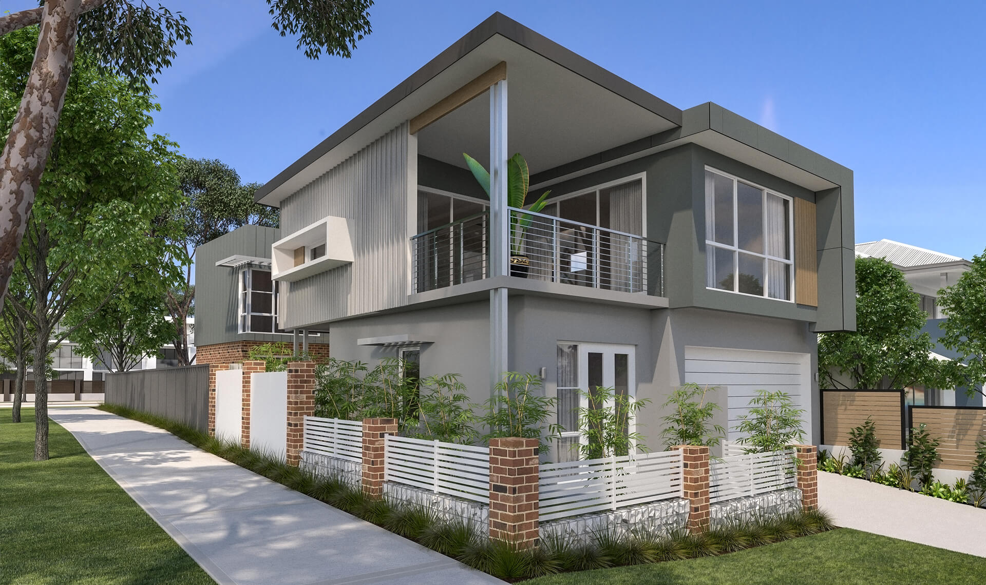 The Valley hybrid home by mygen homes