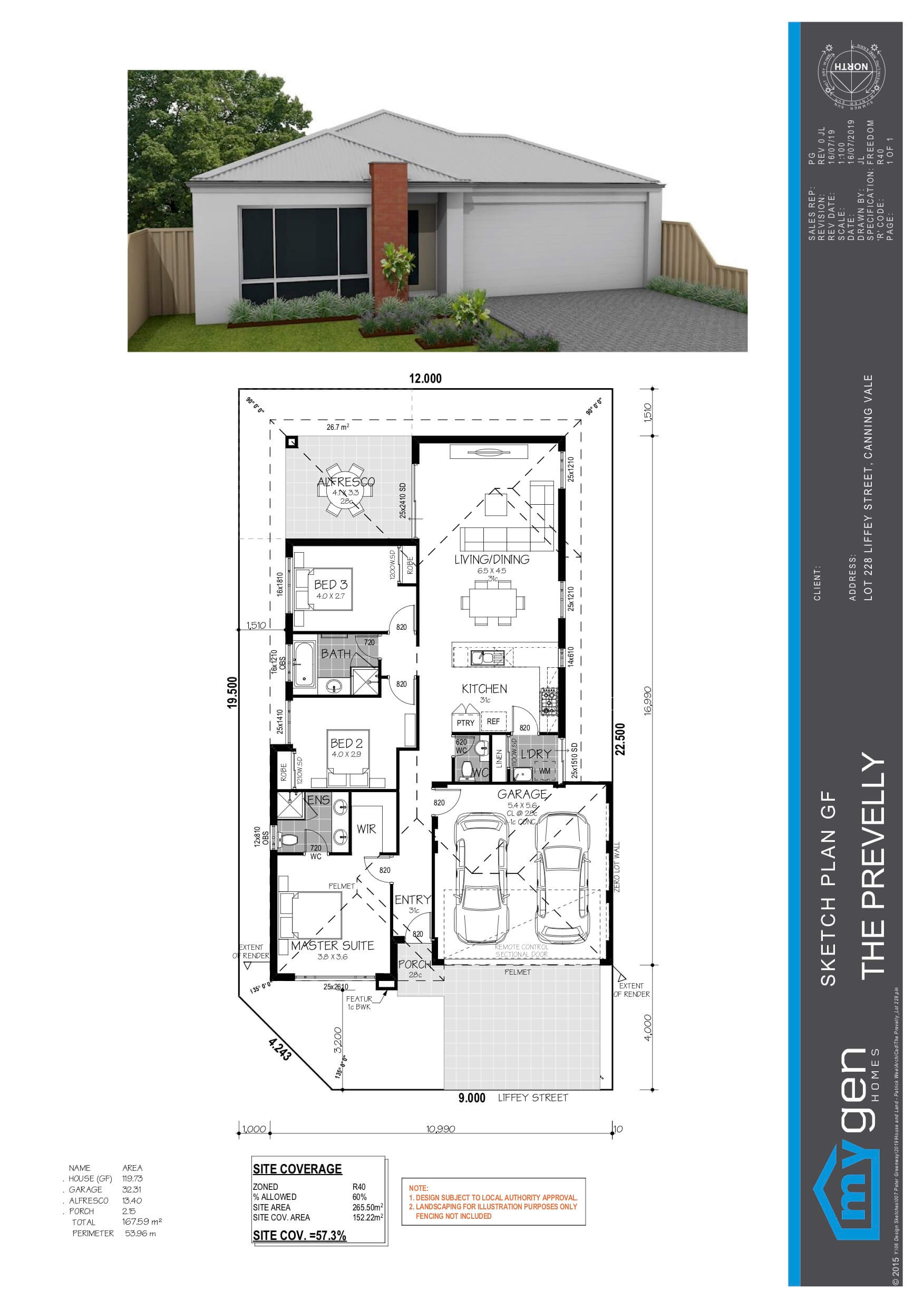 The Prevelly House And Land Design Mygen Homes Perth